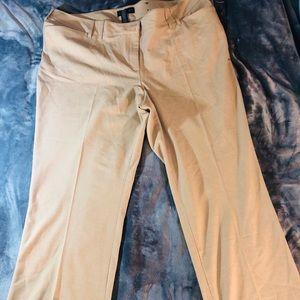 NWOT Tan Lane Bryant Pants